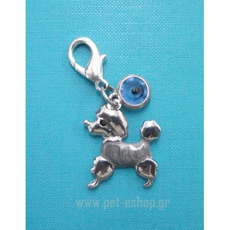 BLUE EYE CANICHE CHARM