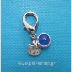 LUCKY BLUE EYE CAT CHARM